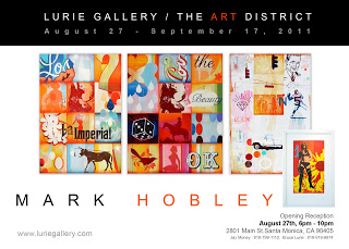 This Saturday, Pick of the Week is the Opening Reception for Stephan Canthal and Mark Hobley at Lurie Gallery!