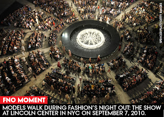 Pick of the Week is the Worldwide Event, Fashion's Night Out, Thursday Sept 8th!