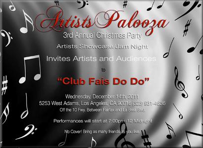 Artists Palooza