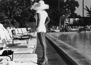1.12 PhotoLA AnthonyFriedkin Woman By Pool