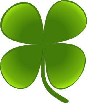 StPaddy Four-leafed-Clover