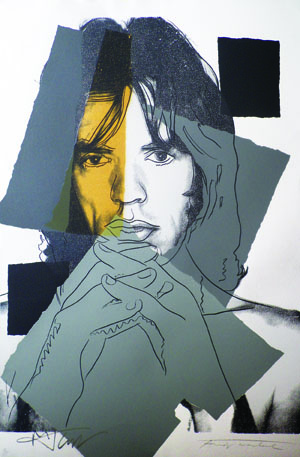 lowres WARHOL MICKJAGGER June2012 Final SMAuction resized