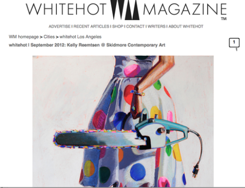 WhiteHot Magazine Features Kelly Reemtsen Review at Skidmore Contemporary!