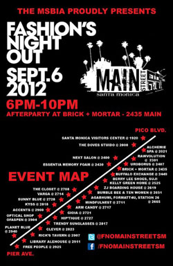 Thurs 9.6 SM  MainSt FNOposter