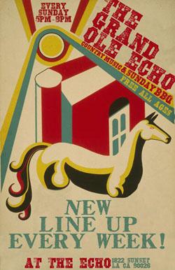 WU GrandOleEcho Poster