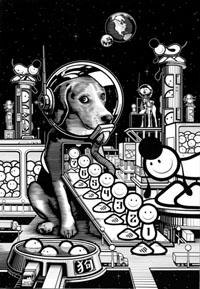 TLP Dog spaceship thang 1000