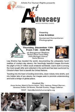 Thurs Dec13 ArtandAdvocacy