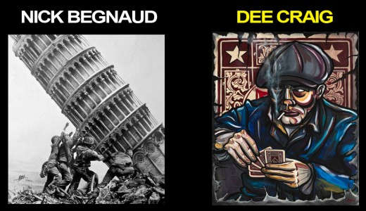 Thurs Jan10 ArtWalkLounge Dee Craig nickb-deec
