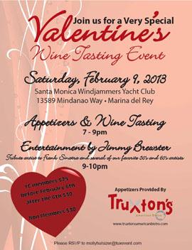 Sat Feb6 SMYachtClub JamesBrewster valentines2013