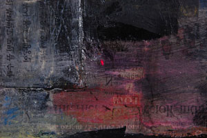 verylowres Julienne Johnson Obbligato 1 2012 30x40in oil with mixed media and collage on canvas