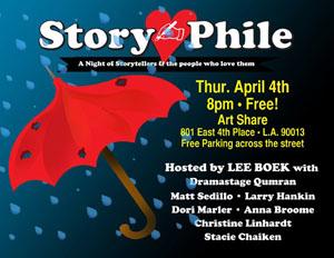 Thurs April4 StoryPhile