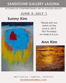 Thurs 6.6 SandstoneGallery June2013