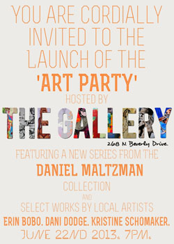 WU 6.22 TheGallery art party