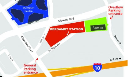Bergamot overflowparking