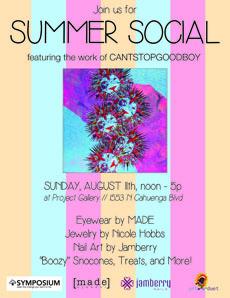 Sun 8.11 SummerSocial