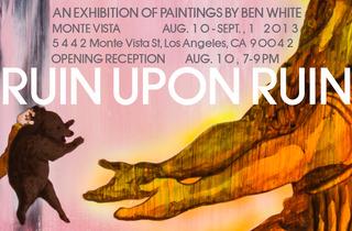 WU Sat 8.10 MonteVista BenWhite Ruin invite
