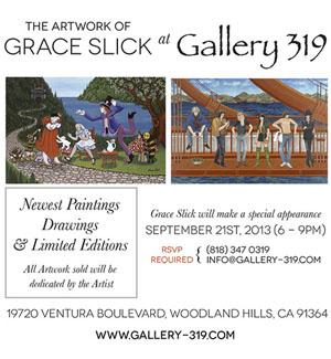 Sat 9.21 Gallery319 grace-slick-show