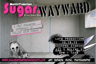 Fri 10.18 LAFW WAYWARD Flyer