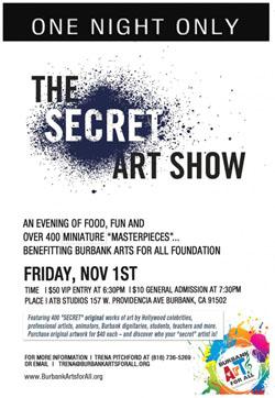 Friday 11.1 Secret-Art-Show