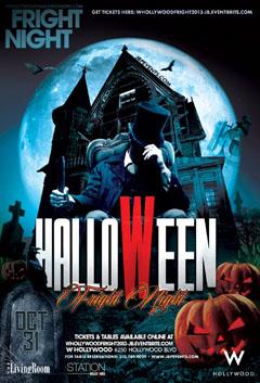 WU POW Halloween WHollywood