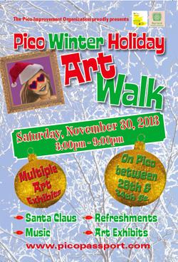 Nov30 PicoHoliday Art Walk 2013