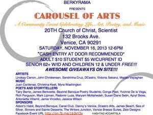 Sat 11.16 CAROUSELARTofS