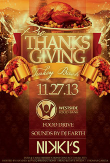 Wed 11.27 Pre-Thanksgiving NIkkis