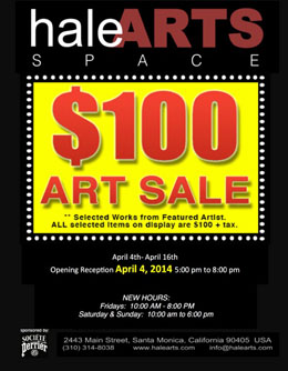 Fri-April4-haleARTS-100ArtSale