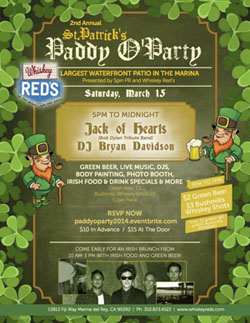 Sat-Mar15-WhiskeyReds-StPattys Flyer
