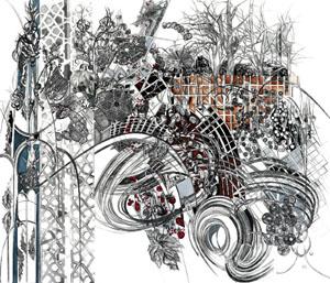 Sat-April5-Hinge-AnnDiener-EntangledGrid