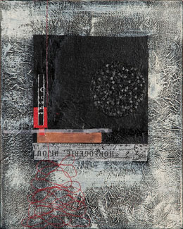 Sat-July19-TAG-Suki Kuss I See Red in Your Work-Mixed Media Collage 10x8in