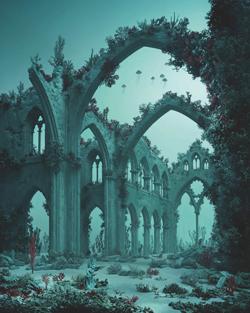 Sat-June14-KopeikinGallery-massard underwater cathedral