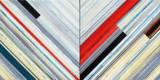POW-GeorgeBillis-NinaTichava-Weaving1423  Chevron 24x48GBGLA