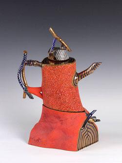 Sat-July12-FrankLloyd-Ralph Bacerra Teapot 1989 3801 377