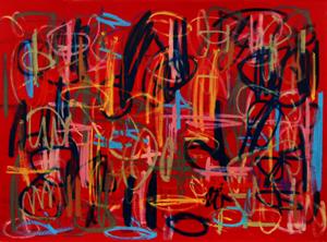 Sat-Sept13-LoraSchlesinger-Gronk GN14-002 monoprint 16x21 sm