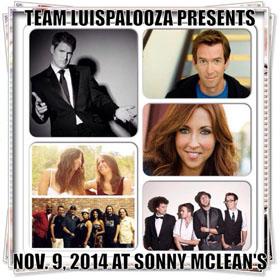 Nov9-Sonnys-Lineup 10.3.14