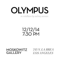 Fri-Dec12-MoskowitzGallery-Olympus Opening flyer