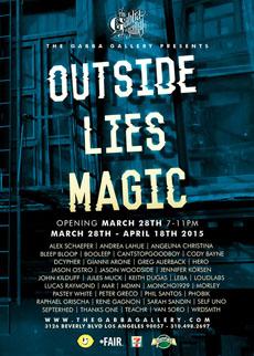 Gabba outside-Lies Magic