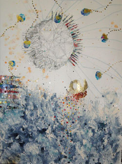 May9-Porch-WaterWorksII-karrie-ross-water-moon-sun-30x22a