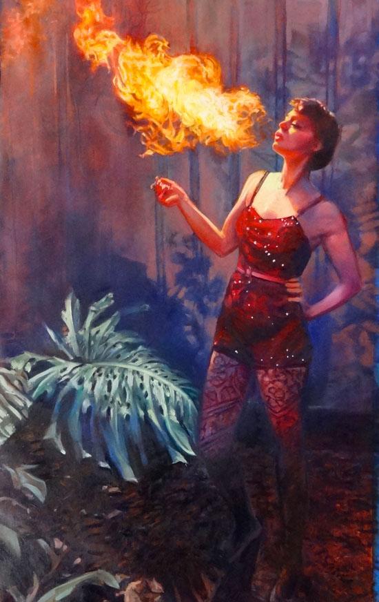 POW-Brewery-ArtWalk-Cynda Valle-FireEater