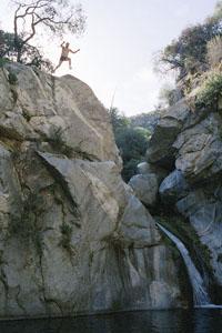Sat-April18-FifthFloor-Gallery-Brett-Jumping-Lower-HermitFalls-2007