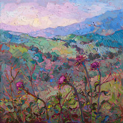 Fri-May8-Erin Hanson Thistles at Paso