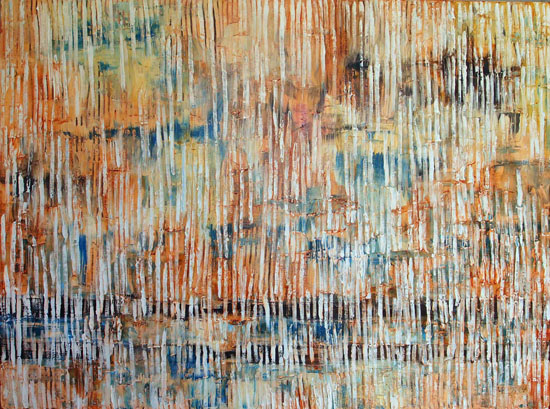 -2-550-Huff-Spirit-Rain-2014-Mixedmedia-on-canves30x40inch