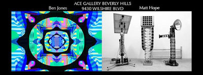 Sat July11-2015-Ace-Gallery-BenJones MattHope
