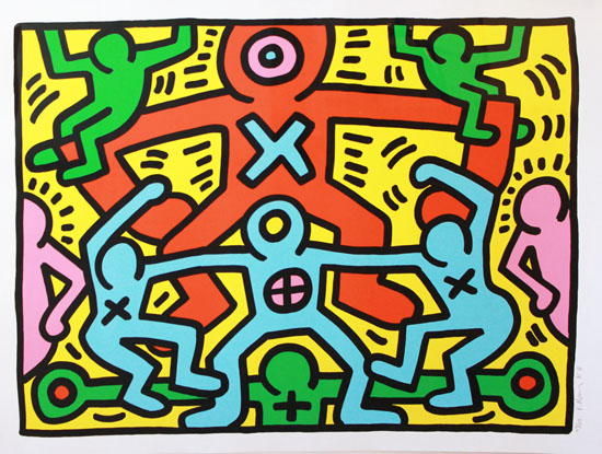 POW-HARING UNTITLED1985 SMAuctions edited-1