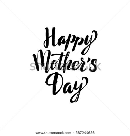 happy-mother-s-dayblack-calligraphy-inscription-387244636