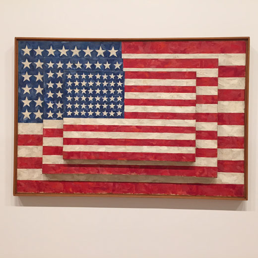 June-2015-WhitneyMuseum-JasperJohns-ThreeFlags-1958