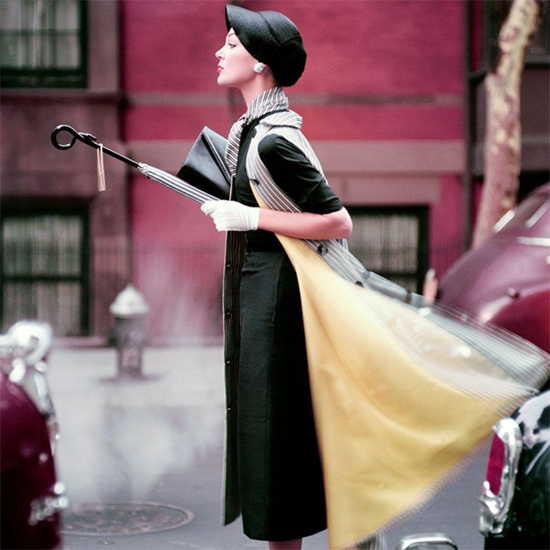 PetterFetterman-NormanParkinson-Traffic-IvyNicholsoninNewYork-1950-GelatinSilverPrint