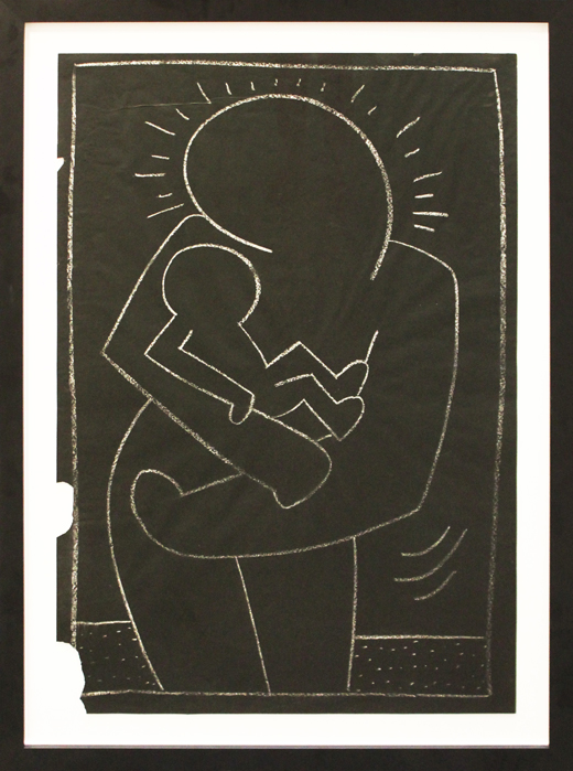March3-2019-520sizeSMAuctions--HARING-MadonnaandChild