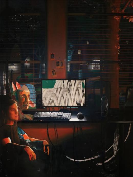 April2019-520Size-ZevitasMarcus-Daniel-B-Dias AnOdetoThisLife-2018-Oil-acrylic-inkand-canvasoncanvas-63x80